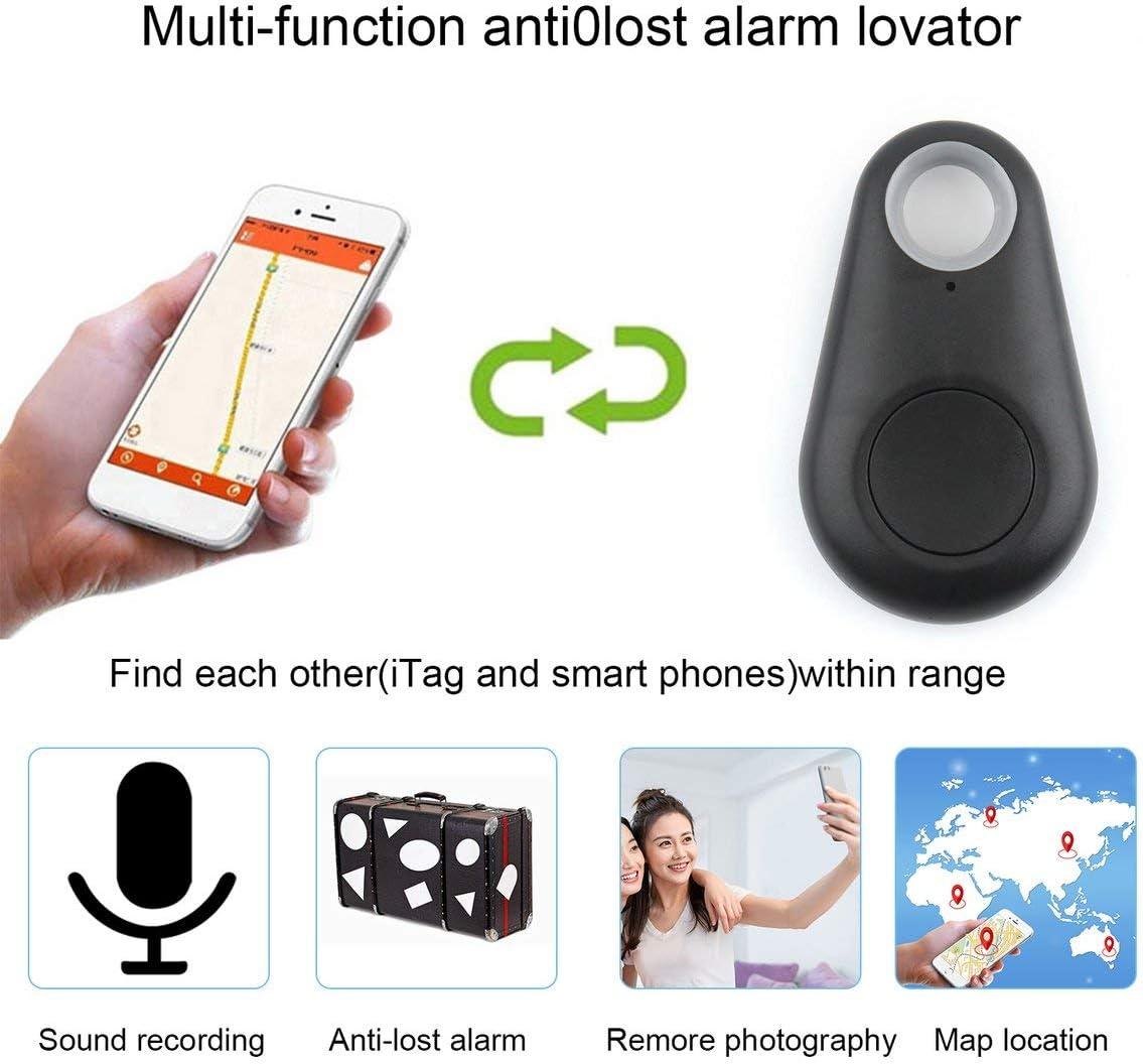 Nero Dimensione portatile Smart 4.0 Localizzatore di localizzatore Tracciatore Chiave allarme Portafogli Inseguitore per cani da compagnia Localizzatore GPS per bambini Inseguitore chiave