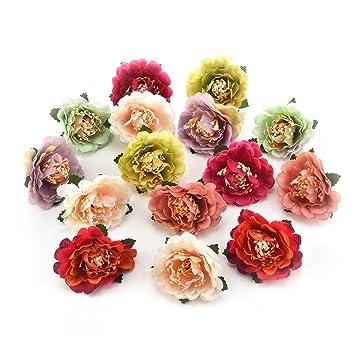 Amazon com: Fake Flowers for Crafts Decoration Bulk Mini