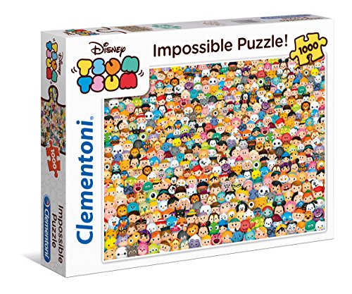 "Price comparison product image Clementoni ""Impossible Tsum "" Puzzle (1000 Piece)"