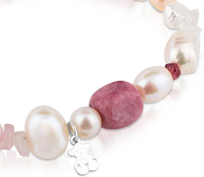 b83d1966518c Pulsera TOUS Pearls en plata de primera ley