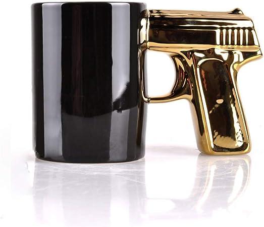 Pistol Mug Skull Cup - Ceramic Coffee Mug Beer Mug