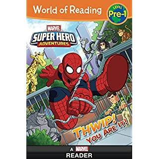 World of Reading:  Super Hero Adventures: Thwip! You Are It!: Level Pre-1 (World of Reading (eBook))