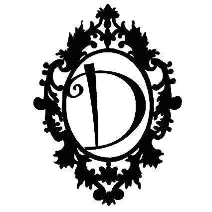 Amazon Com Personalized Fancy Initial Name D Door Hanger 20