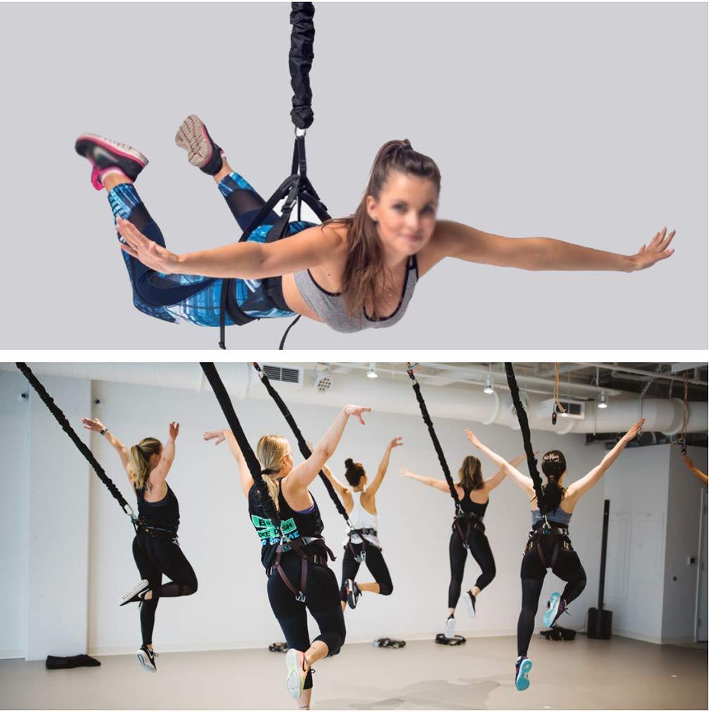 TESLANG Bungee Fitness Set, Bungee Cord Training Workout, Widerstandsband
