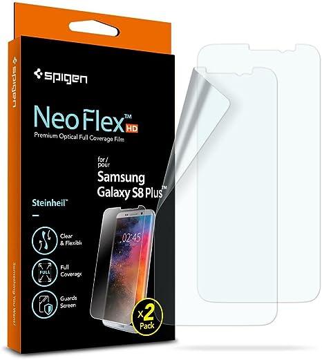 Spigen, 2-Pack, Protector de Pantalla para Samsung Galaxy S8 Plus ...