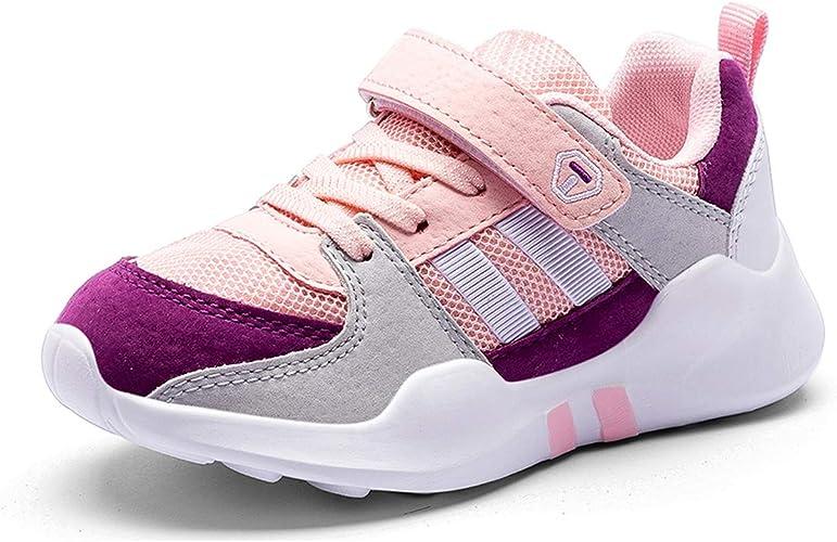 Zapatos Niña Zapatillas de Niños Running Zapatos Deporte para Correr Sneakers Ligero Zapatillas de Gimnasia para Unisex-Niños Rosa 29: Amazon.es: Zapatos y complementos