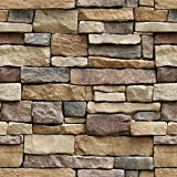 Stone Peel and Stick Wallpaper - Removable