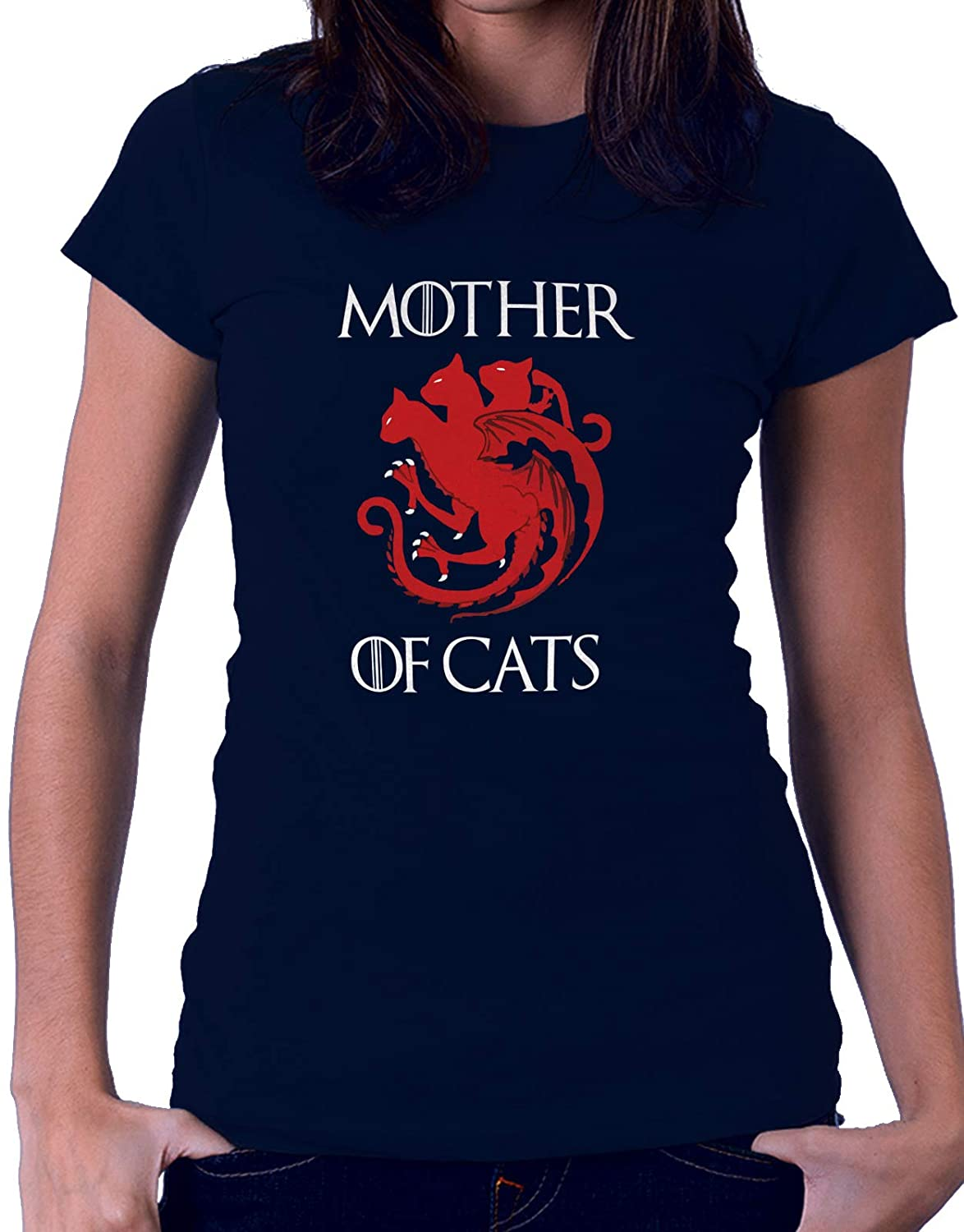 Il Trono di Spade Tshirt Game of Thrones Mother of Cats Serie TV
