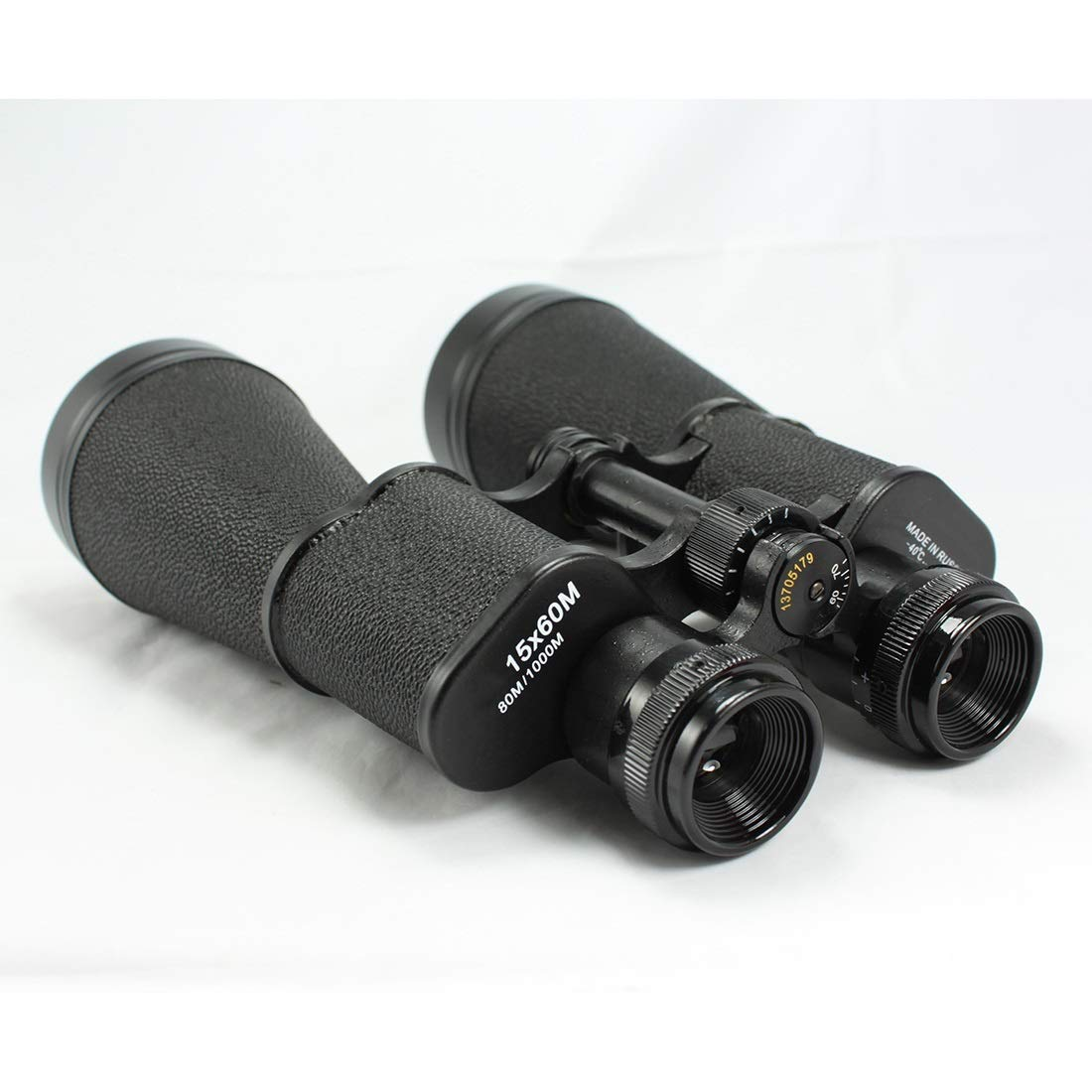 PUWEN 15x60 High Powered Binoculars With Weak Light Night Vision Great for Bird Watching Outdoor Sports Games and Concerts ( Color : Black )