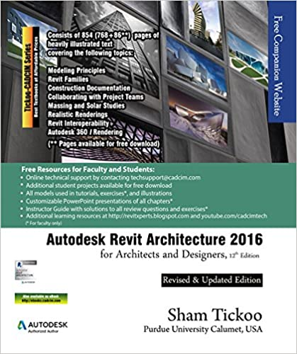 Mobi download gratuito di libri Autodesk Revit Architecture