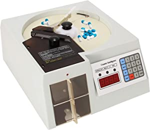 CGOLDENWALL Pills Counting Machine Counters Capsule Tablet Counting Machine Counting Equipment for Tablets/Pills/Capsules
