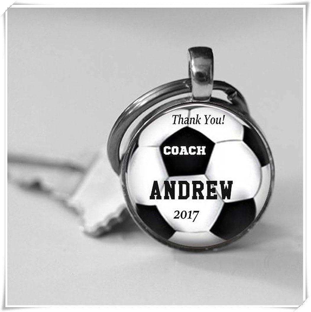 Dandelion Personalized Soccer Coach Gift,Glass Key Chain,Team Awards,Trophy, Boys or Girls, Soccer Team,Soccer Appreciation,Team Gift wish dandelion