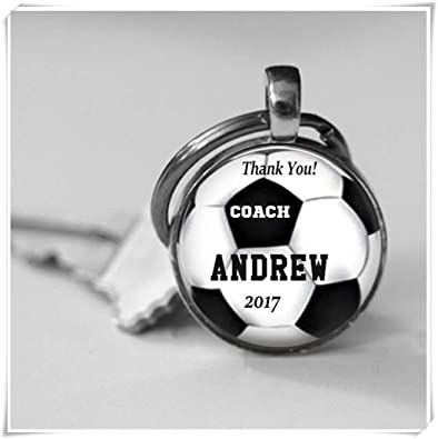 257b53861 Image Unavailable. Image not available for. Color  Dandelion Personalized  Soccer Coach ...