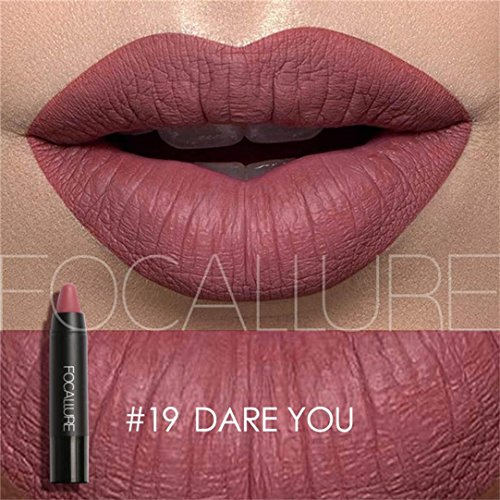 Creazy Matte Lipstick Lips Makeup Cosmetics Waterproof Pinta