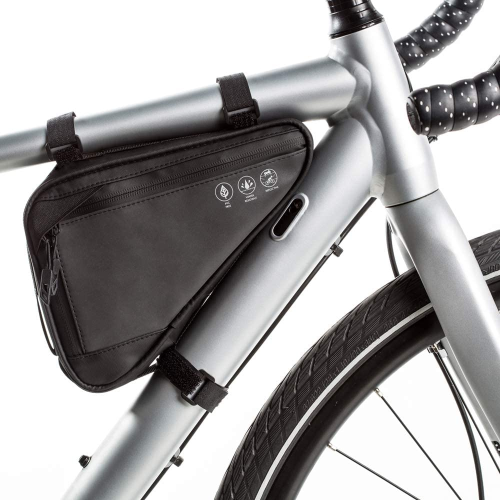 Bicycle Bike Storage Triangle Bag Cycling Front Tube Frame Pannier Phone Holder