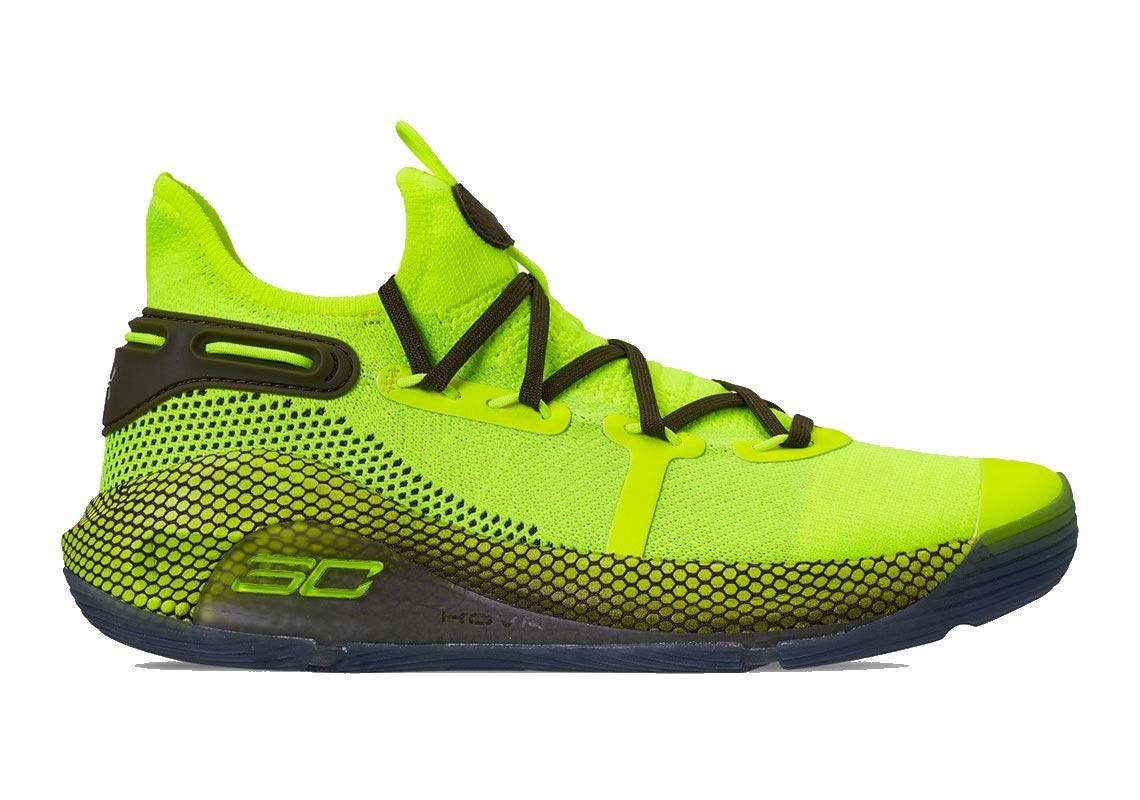 Under Under Under Armour Curry 6 Hi Vis Gelb 46-US 12 915303