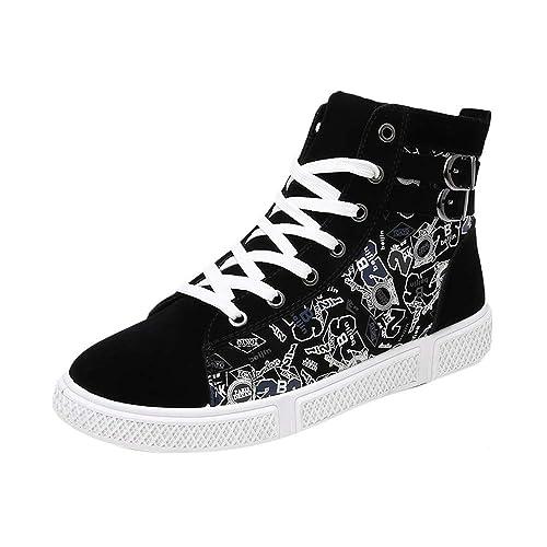 Zapatos Deportivos De Hombre,Beladla Zapatillas Running Hombres Sandalias Deporte para Correr Trail Fitness Sneakers Ligero Transpirable Mariposa Floral: ...