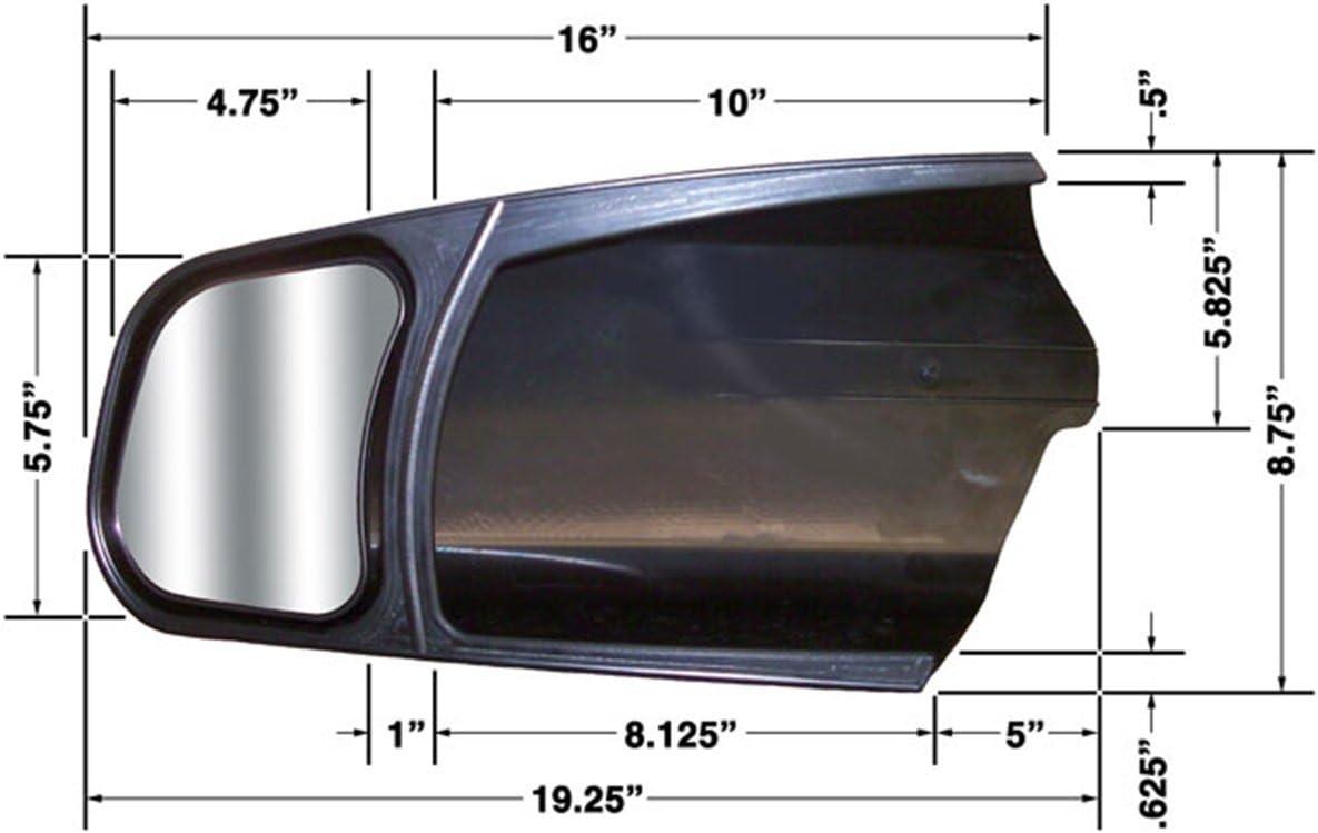 CIPA 40 Custom Towing Mirror for Toyota   Pair