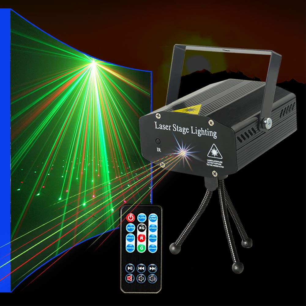 Party lights Strobe Stage Lights Disco DJ Lights Sound Activated with Remote Control great for Karaoke KTV Club Parties Wedding Bar Christmas Festivals by SUYBUY