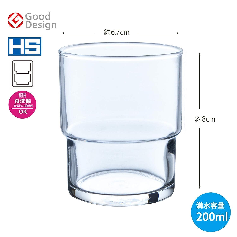 Amazon.com: 【Lavavajillas disponible】 Juego de 6 vasos de ...