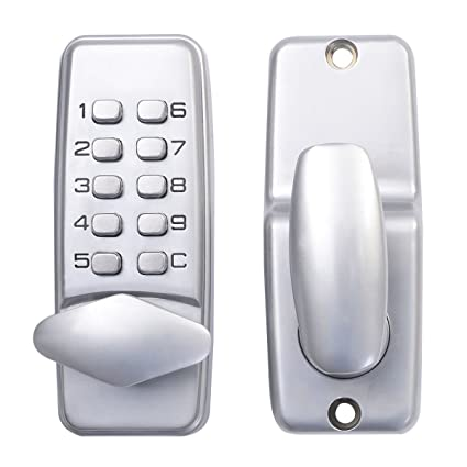 Goplus Keyless Digital Machinery Code Keypad Password Security Entry