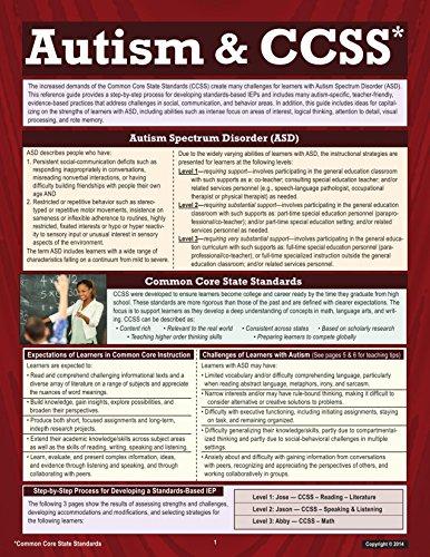 Autism & CCSS