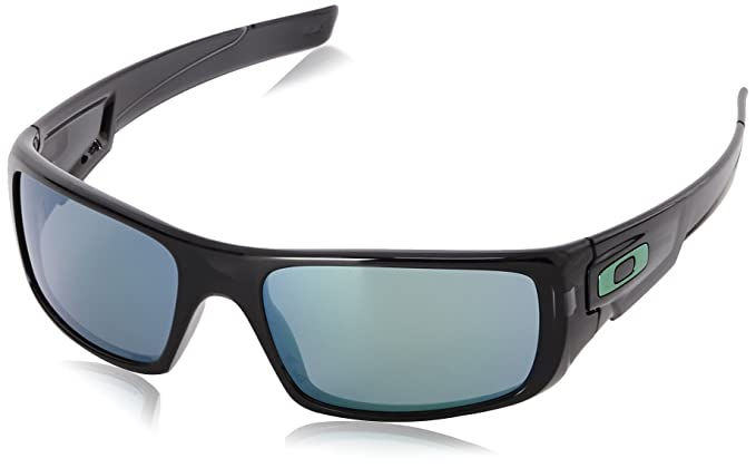 6a2a8a1c6e Oakley Men s Crankshaft Jade Iridium with Black Ink Sunglasses ...