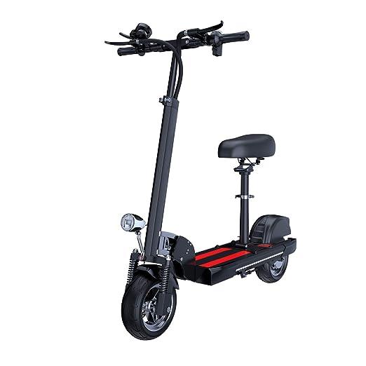 JLWDD Scooter Eléctrico Plegable para Adultos, Patinete ...