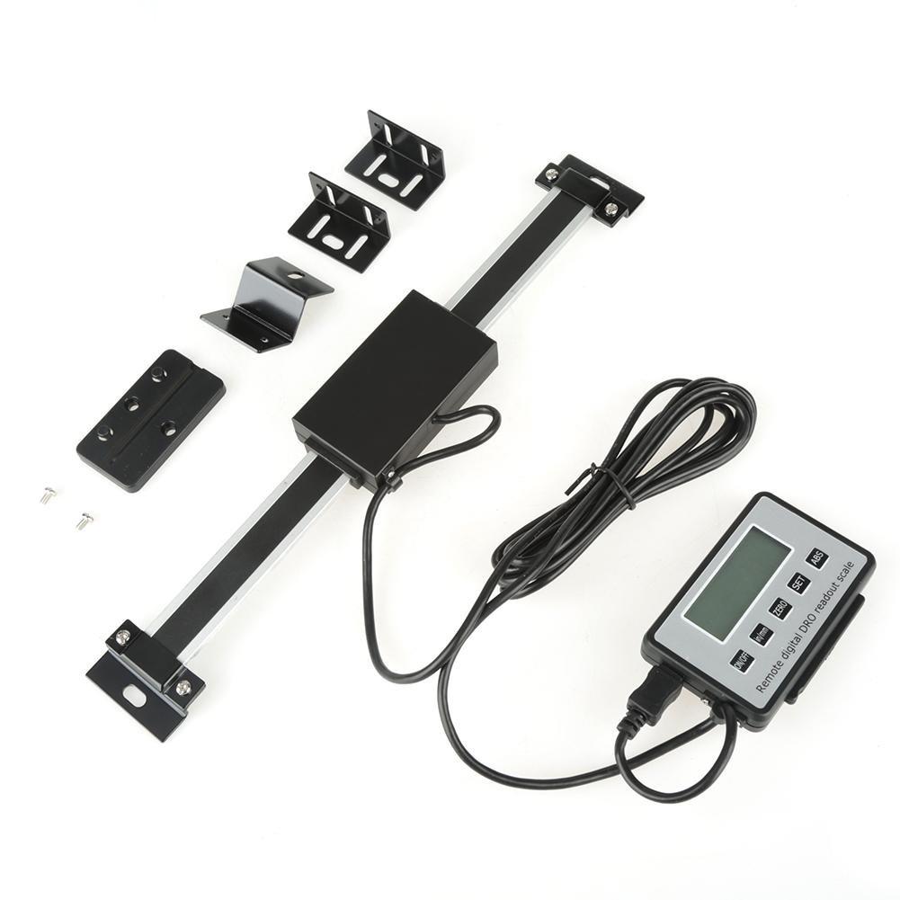 Kit de lectura digital escala de lectura LCD digital precisa de 0-150 mm para tornos de fresadoras