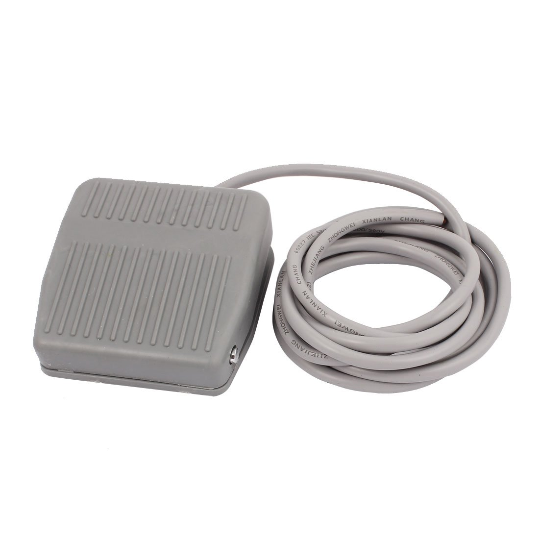 AC 250V 10A SPDT NC NO Momentary Power Foot Pedal Switch w 2M Cable