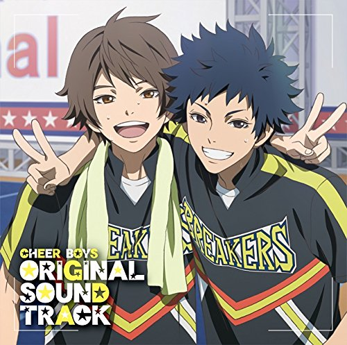 Animation Soundtrack (Music By Takarot) - Cheer Boys (Anime) Original Soundtrack (2CDS) [Japan CD] LACA-9469