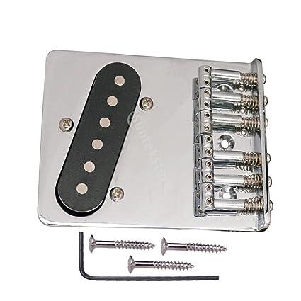 Sharplace L Forma 6 Selleta de Pastilla Pickup Accesorios Para Guitarra Eléctrica Repuesto Para TELE 2.59