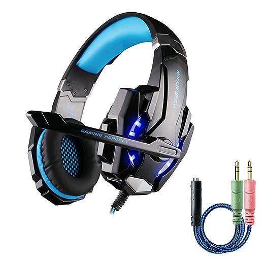 70 opinioni per Cuffie Gaming per PS4, multifun G9000 Cuffie Gaming Headset Auricolare con