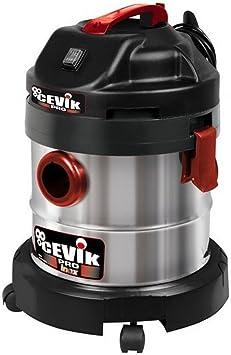 Cevik CE-PRO20X Aspirador sólidos y líquidos, 1250 W, 230 V, Gris ...