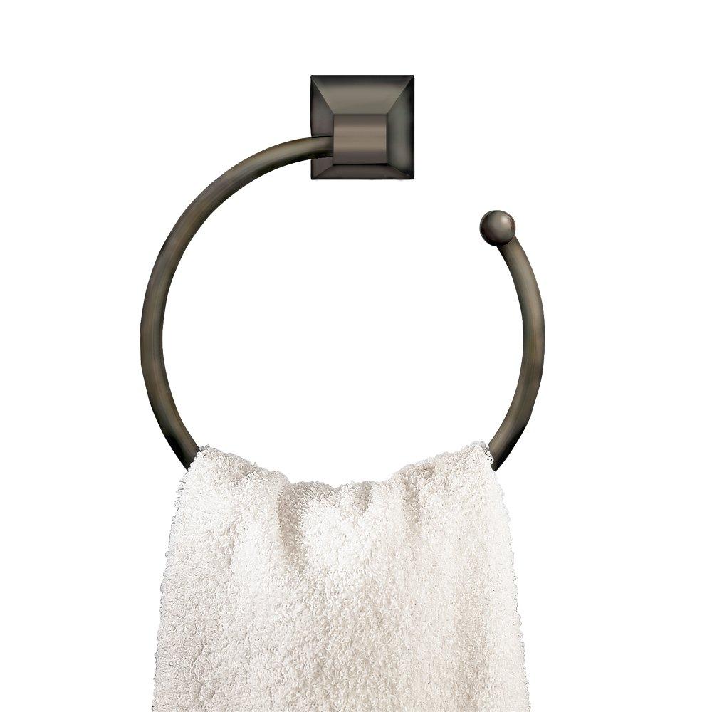 American Standard 2555.021.068 Town Square 7-Inch Diameter Towel Ring, Blackened Bronze by American Standard (Image #1)