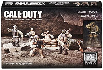 Mega Bloks® Call of Duty®, Desert Troopers - Item #06825