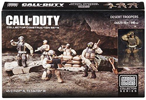 Mega Bloks - Call Of Duty - 6825 - Jeu De Construction - Soldats Du Désert