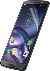 Olixar for Motorola G6 Plus Screen Protector Film - Anti-Scratch, Bubble Free, HD Clear Clarity TPU Flexible Film Full Coverage Case Friendly - Easy Application - Clear