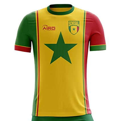 dd8c8cdeb Image Unavailable. Image not available for. Color  Airo Sportswear 2018-2019  Senegal Third Concept Football Soccer T-Shirt Jersey
