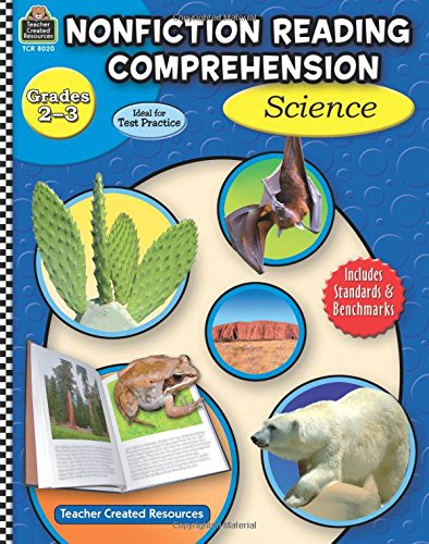 Nonfiction Reading Comprehension: Science, Grades 2-3 by Teacher Created Resources