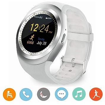Reloj Inteligente Bluetooth, Y1 3.0 Reloj Con Tarjeta SIM Micro Con Pantalla Táctil, Podómetro