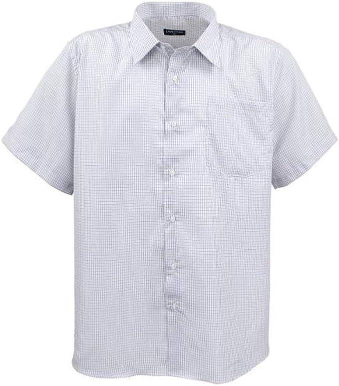 Herren Hemd Langarm Kariert Herrenhemd Shirt in Übergrößen 3XL 4XL 5XL 6XL 7XL