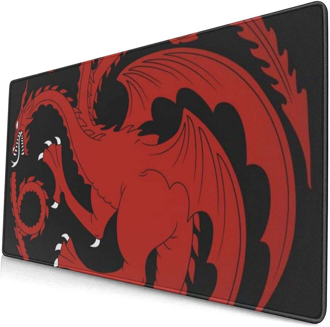 Redraw of A Targaryen Heraldic Sign 15.8x29.5 inches Non-Slip Mousepad Computer /& PC Mouse pad Large