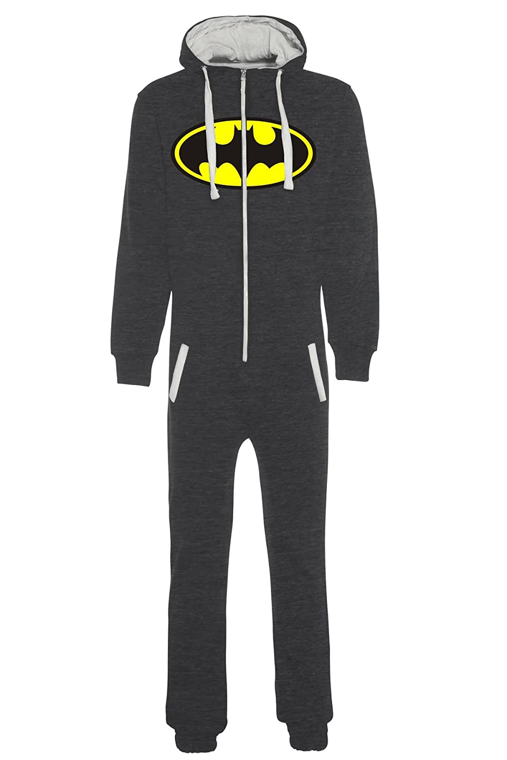 aejays Unisex Batman Printed Onsie Color Charcoal Size M PAK MAN LTD