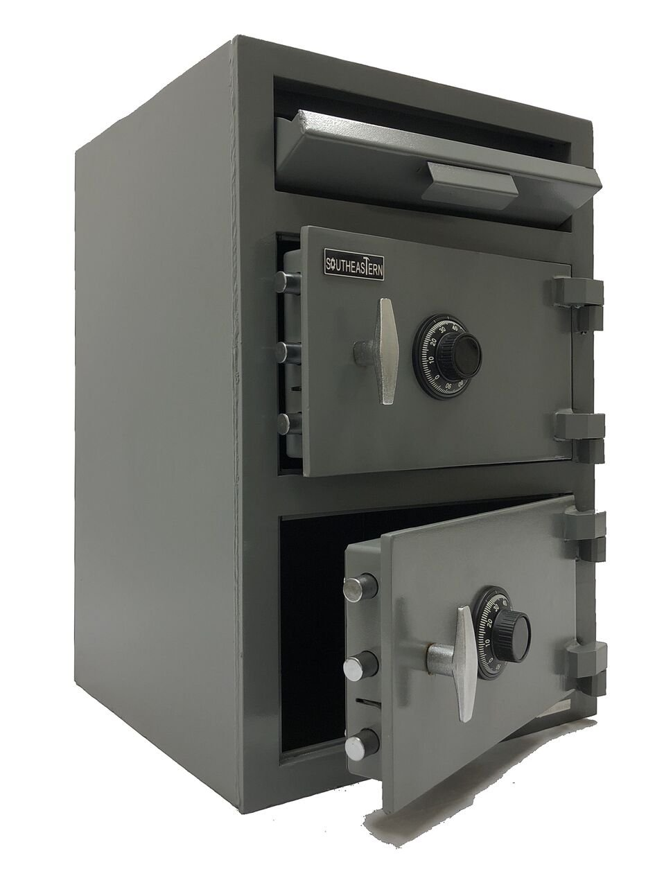Double Door Depository Cash Drop Safe UL Listed Mechanical Combination Lock or Electronic lock