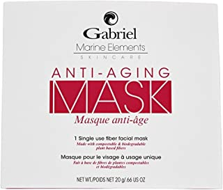 product image for GabrielOrganics, facial Masks (Anti Aging),Natural,Vegan,With Ginseng and Ginkgo Biloba Leaf extract, for revitalizing distressed skin and reduce fine lines