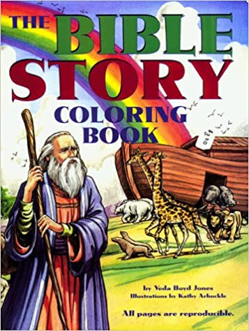 Bible Story Coloring Book Veda Boyd Jones Kathy Arbuckle 9781557488718 Amazon