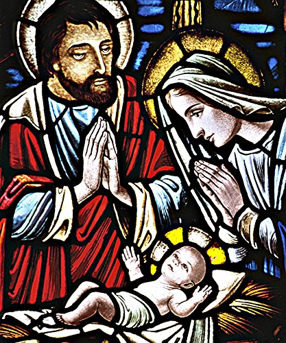 Baby Jesus Christmas Nativity Scene Fleece Throw Blanket 50