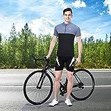 Souke Sports Mens Cycling Jersey Wicking Bike