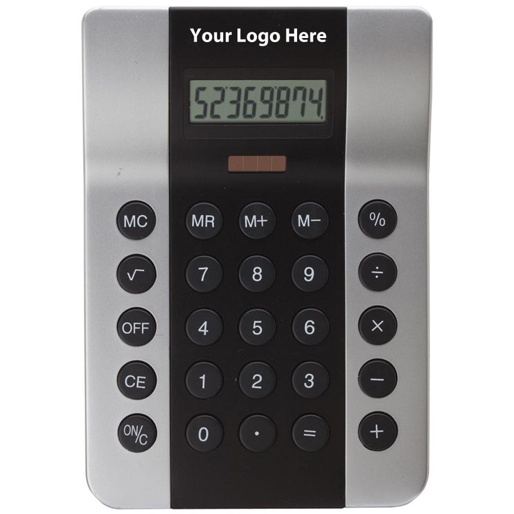 Desktop Calculator - 50 Quantity - $10.70 Each - PROMOTIONAL PRODUCT / BULK / BRANDED with YOUR LOGO / CUSTOMIZED